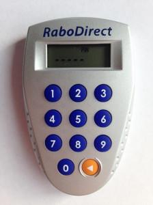 So sieht der Digipass der Rabobank aus